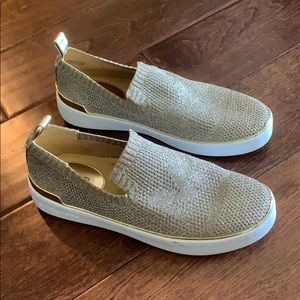 Michael Kors gold shoes - ONLY WORN ONCE
